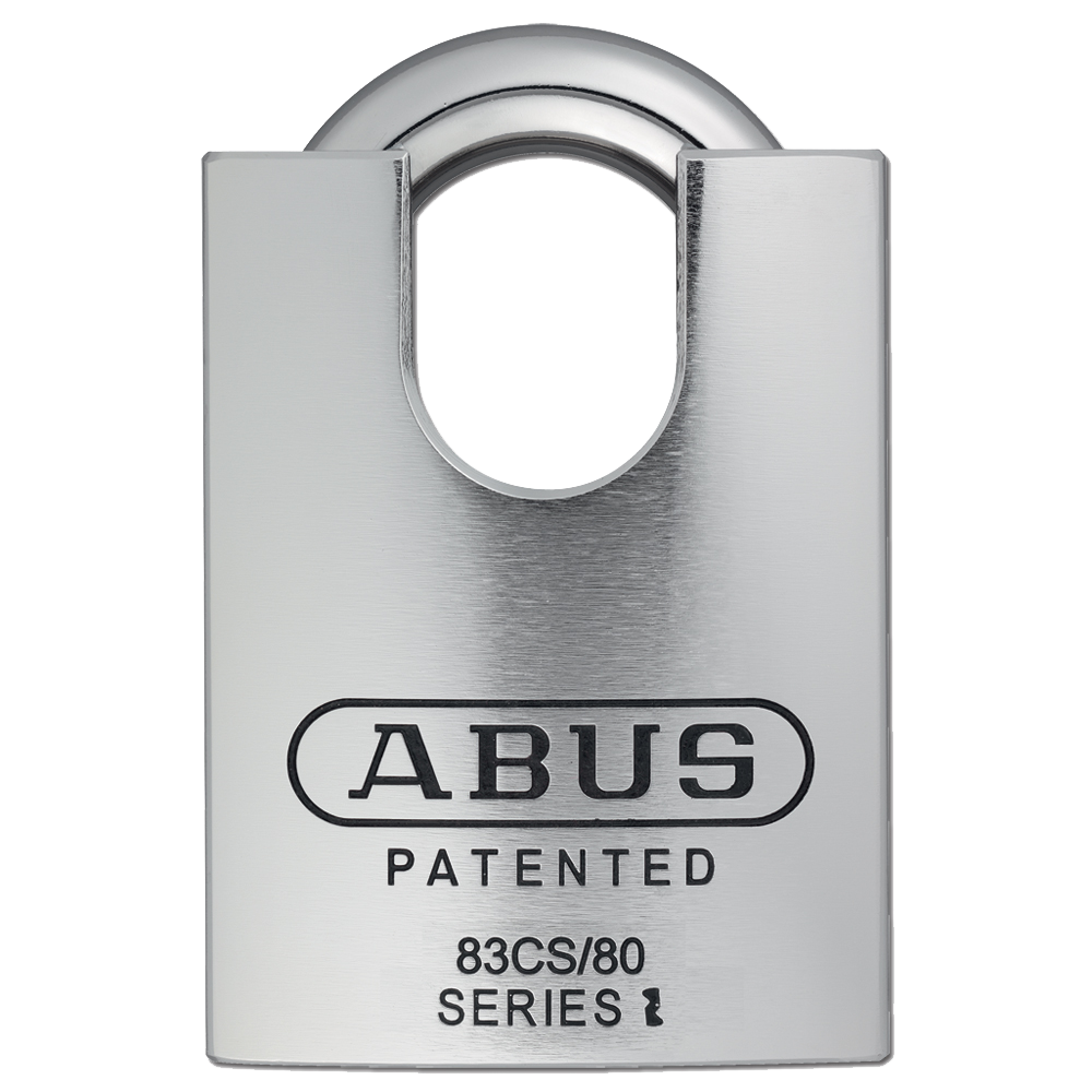 ABUS 83CS/80 Series CEN6 Steel Closed Shackle Padlock Without Cylinder 1 Locksmith in Stirling