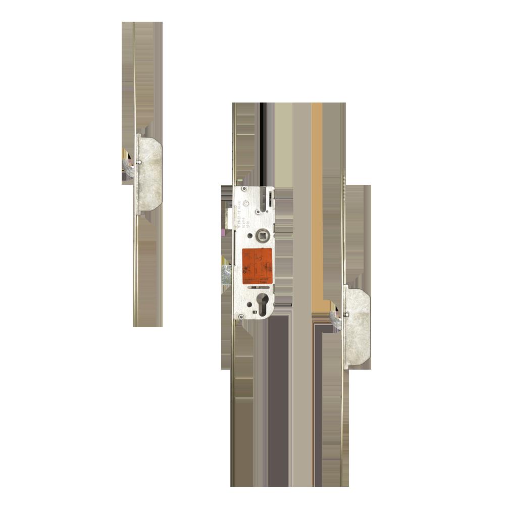 GU Lever Operated Latch & Deadbolt 20mm Faceplate - 2 Hook 1 Locksmith in Stirling