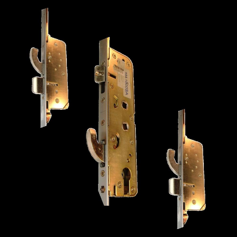 MILLENCO Mantis 2 Lever Operated Latch & Hookbolt 95/65 Twin Spindle - 2 Hook, 2 Bolt & 2 Roller 1 Locksmith in Stirling