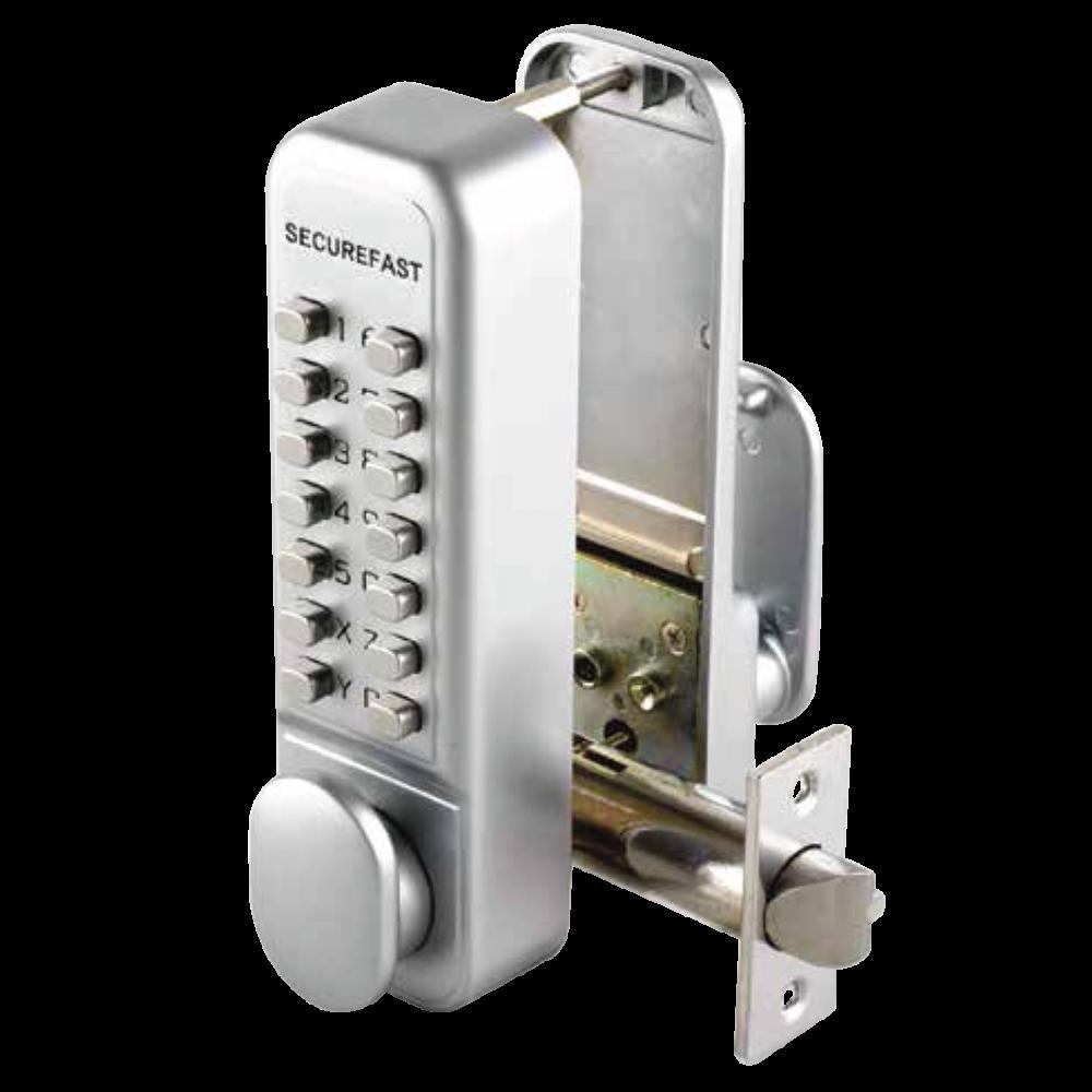 SECUREFAST SBL320 Easy Change Digital Lock with Tubular Latch & Holdback 1 Locksmith in Stirling