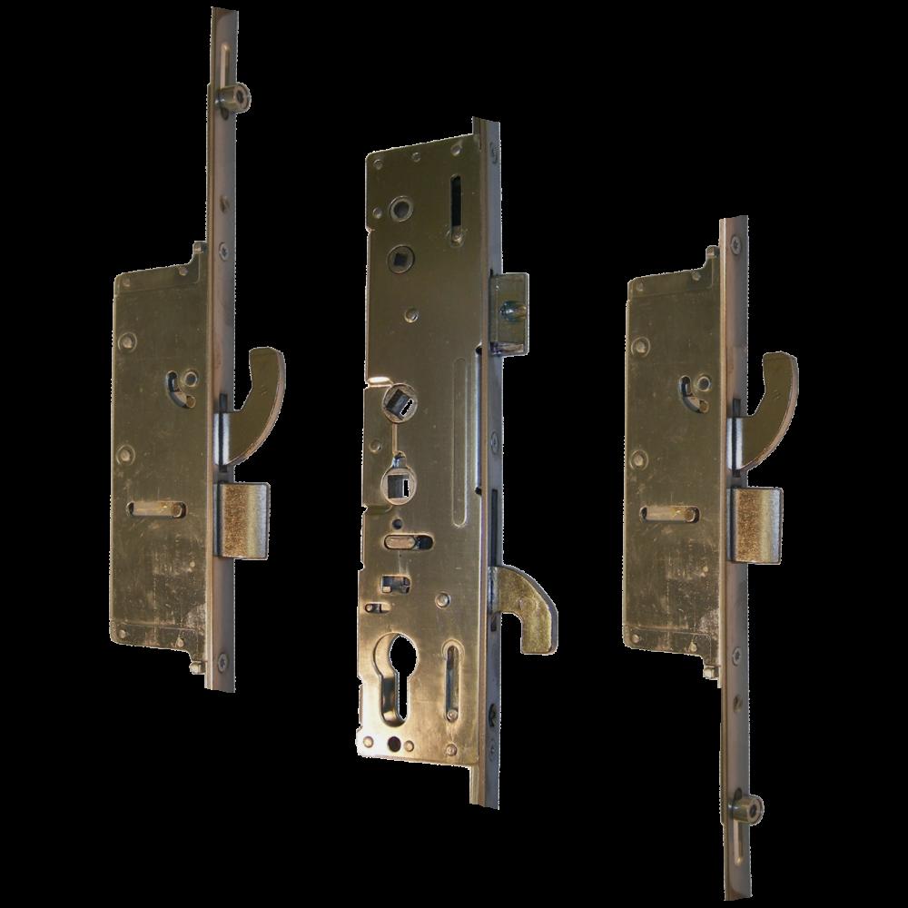MILLENCO Mantis 3 Lever Operated Latch & Hookbolt 92/62 Twin Spindle - 2 Hook, 2 Bolt & 2 Roller 1 Locksmith in Stirling