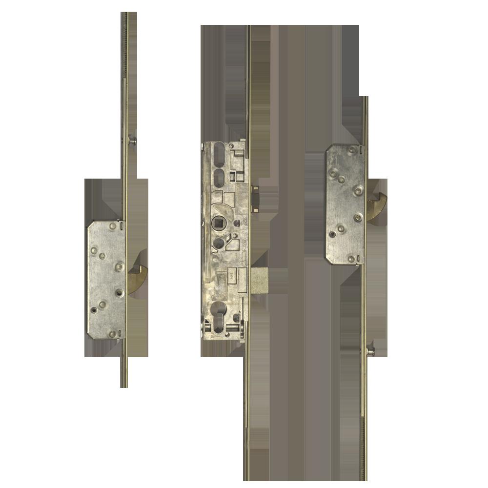 ROTO H600 3RDL2201 Latch & Deadbolt Single Spindle - 2 Hook 2 (V Cam) Mushrooms 1 Locksmith in Stirling