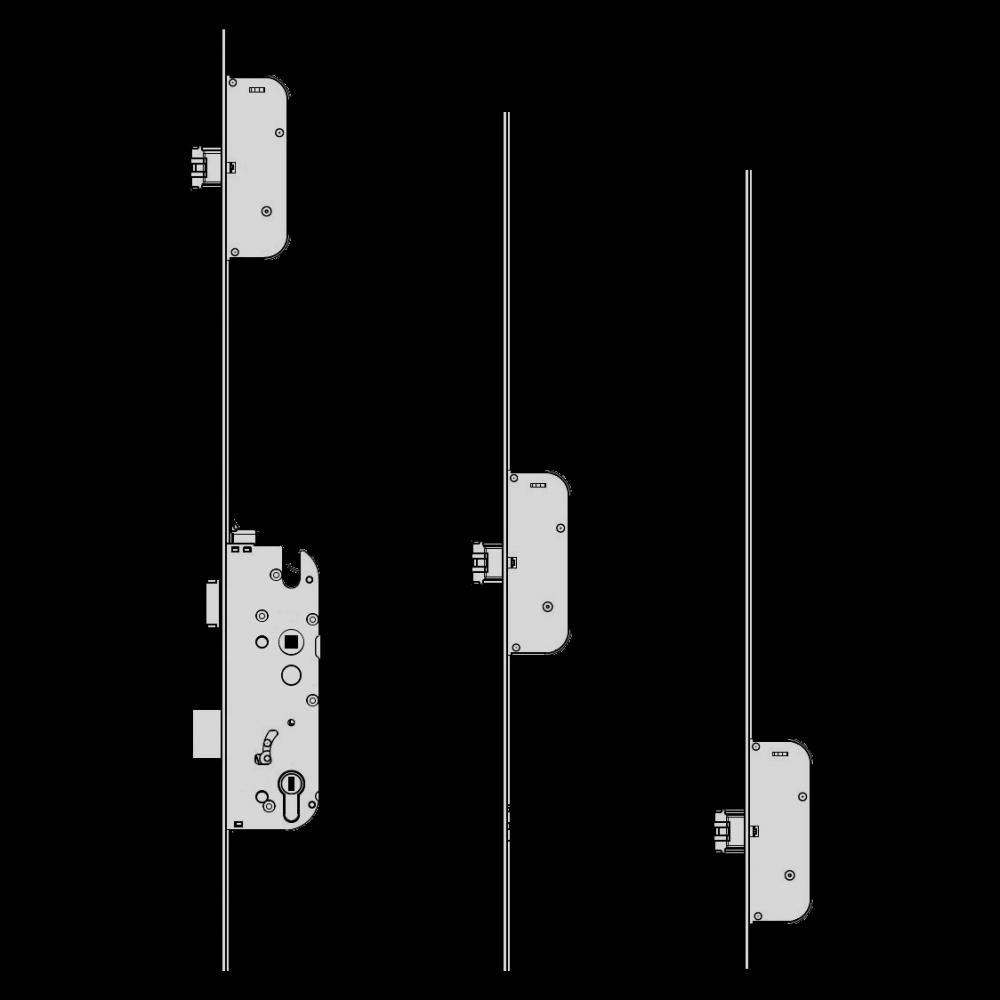 GU Secury Auto A3 1770 Multipoint Lock - 3 Deadlocks 1 Locksmith in Stirling