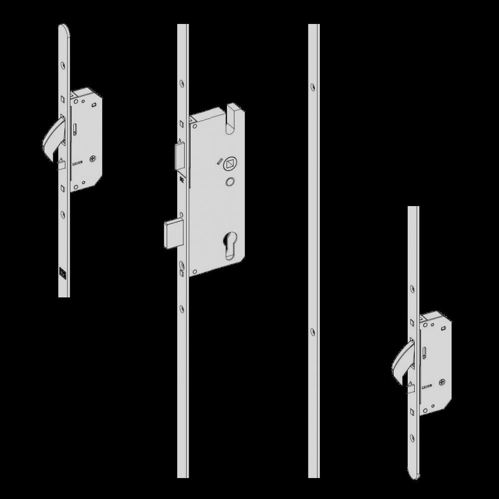 WINKHAUS AV2 Heritage Auto Locking Lever Operated Latch & Deadbolt 20mm Radius - 2 Hook 1 Locksmith in Stirling