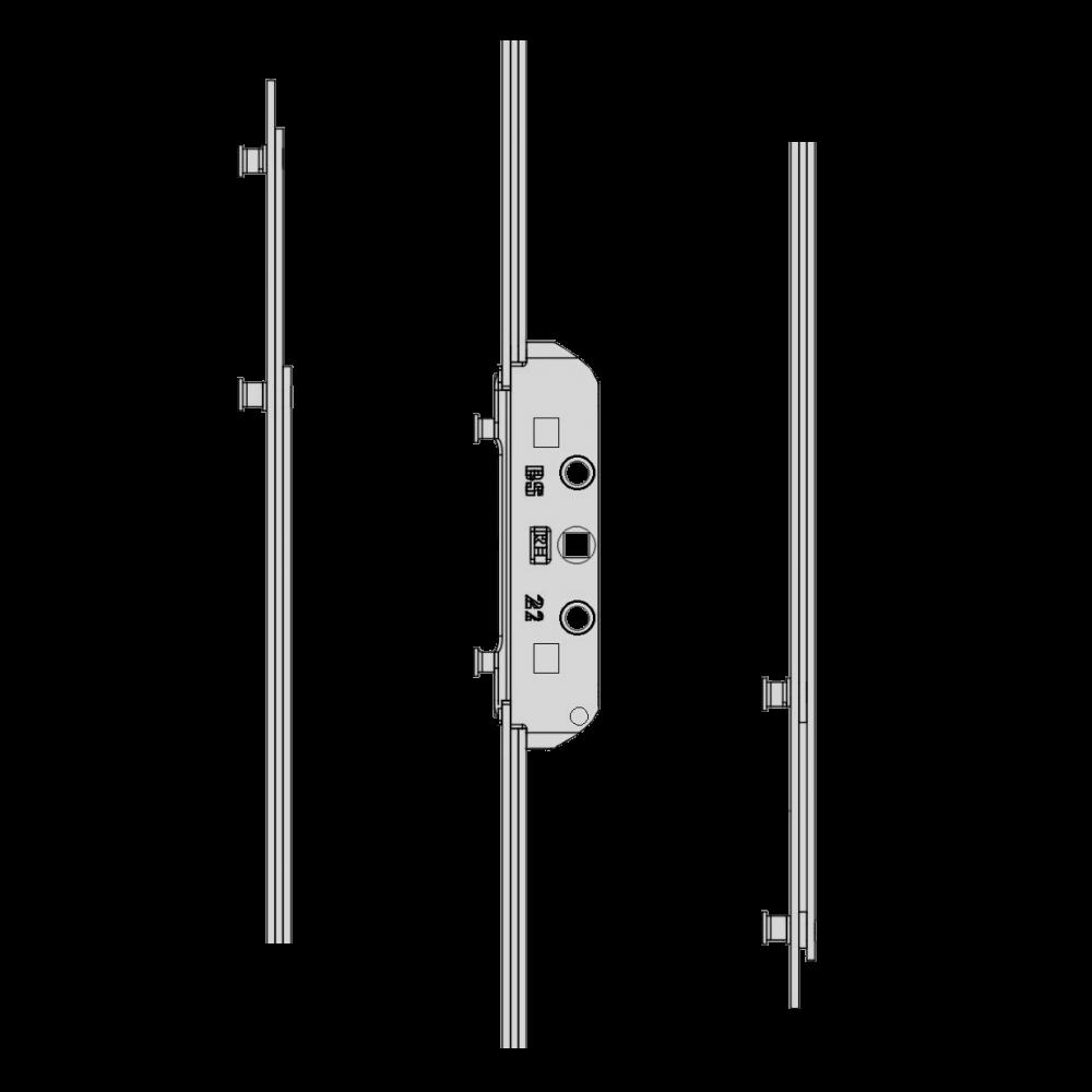 MACO GR RAIL Twin Espag Rod 22mm 1 Locksmith in Stirling