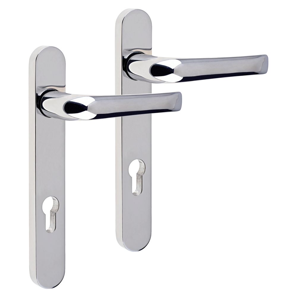 MILA Supa 92 Lever/Lever - 220mm Backplate 1 Locksmith in Stirling