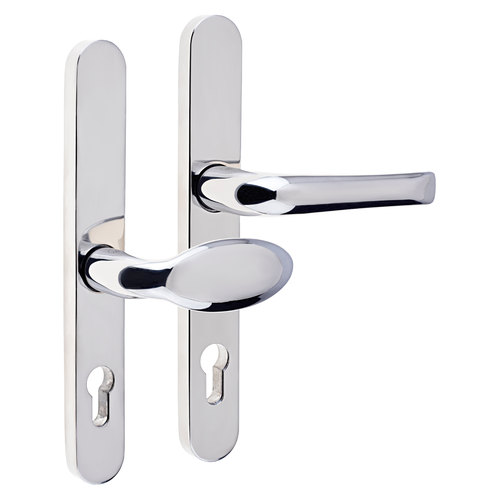 MILA Supa 92/62mm Lever/Pad - 240mm Backplate 1 Locksmith in Stirling