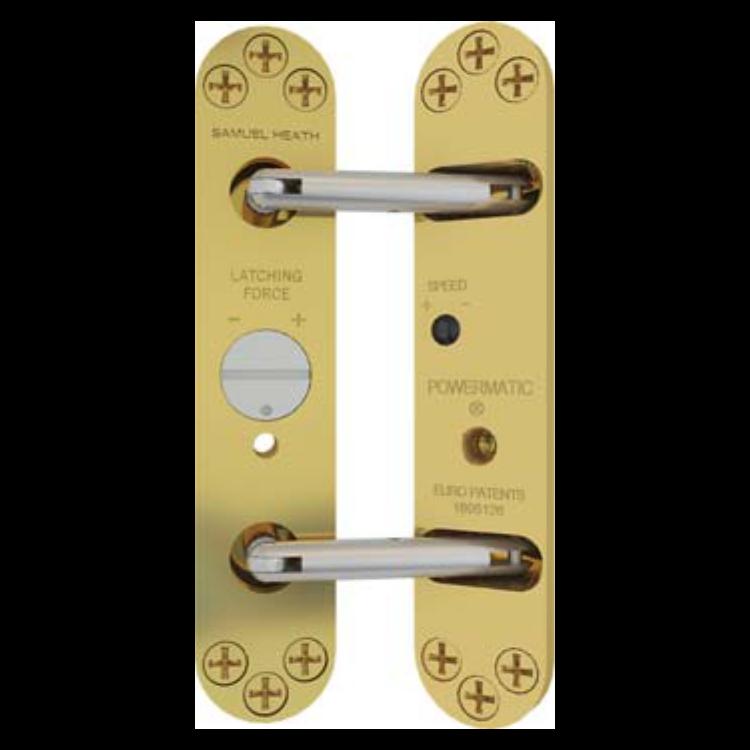 SAMUEL HEATH Powermatic R100 Concealed Door Closer 1 Locksmith in Stirling