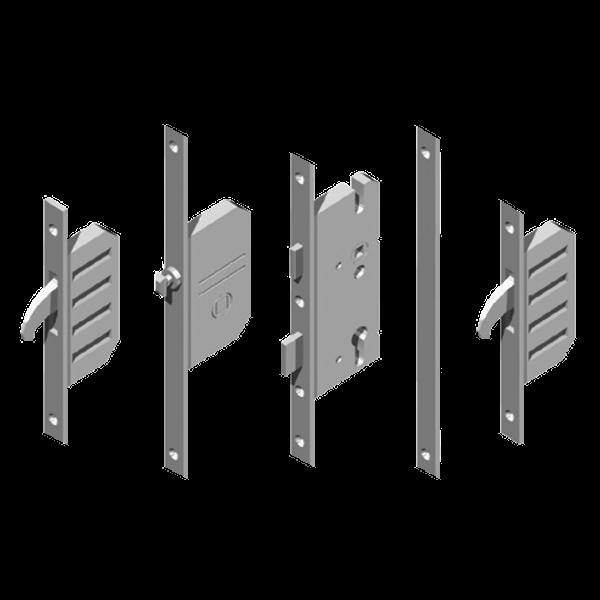 WINKHAUS Cobra EFGA Latch, Deadbolt & 2 Hooks With Entryguard & Lockout Facility - 20mm 1 Locksmith in Stirling