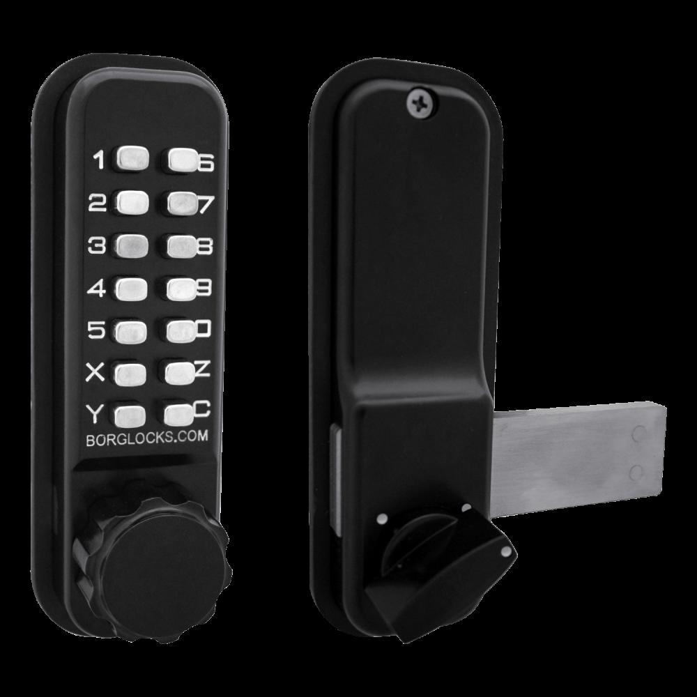 BORG LOCKS BL2605 Marine Grade Pro Digital Rim Deadbolt Lock 1 Locksmith in Stirling