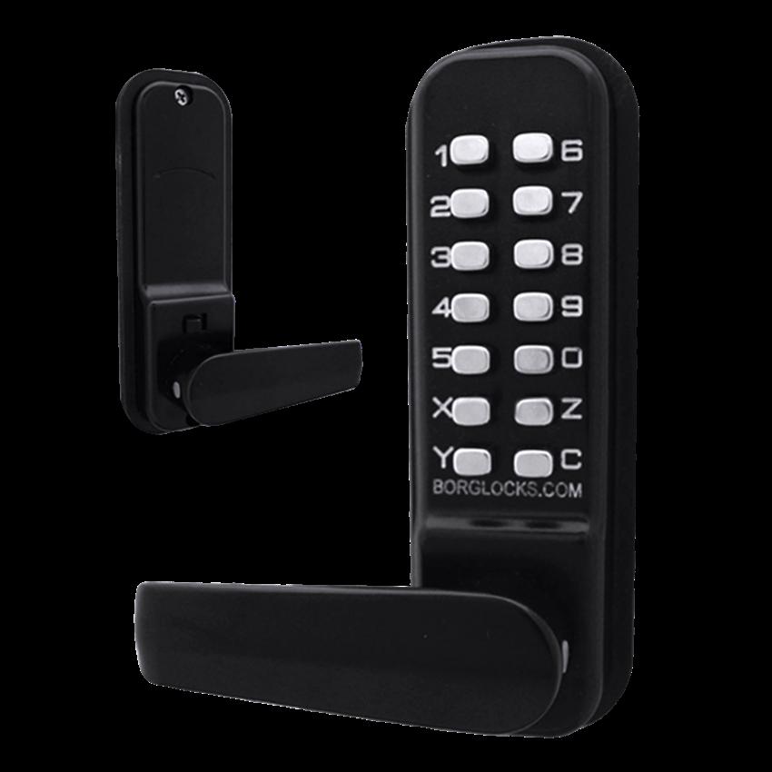 BORG LOCKS BL4401 Wooden Gate Digital Lock With Optional Holdback 1 Locksmith in Stirling