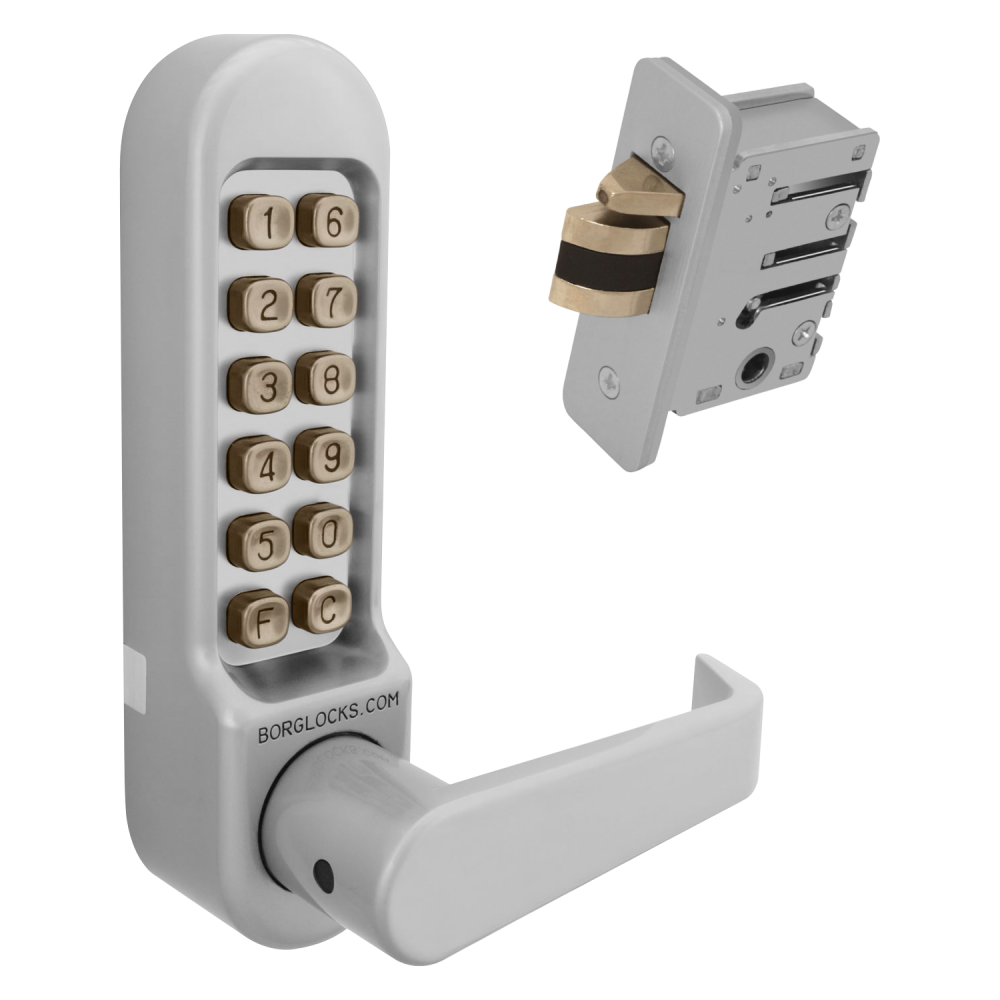 BORG LOCKS BL5402 Digital Lock With Inside Handle And 28mm Latch 1 Locksmith in Stirling