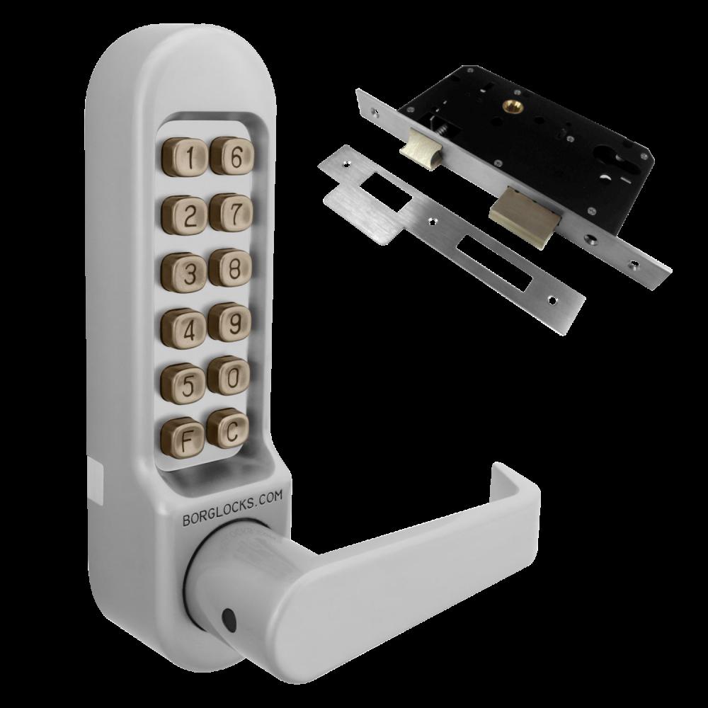 BORG LOCKS BL5403 Digital Lock With Inside Handle And Euro-Profile Lockcase 1 Locksmith in Stirling