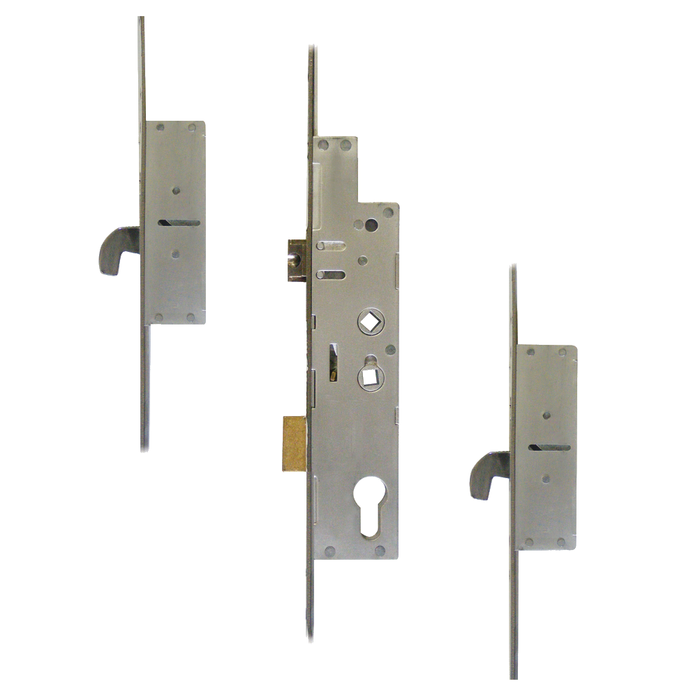 FULLEX XL Crimebeater 44mm Lever Operated Latch & Deadbolt Twin Spindle - 2 Hook 1 Locksmith in Stirling
