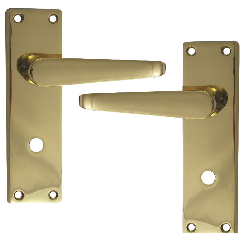 ASEC Victorian Plate Mounted Bathroom Lever Furniture 1 Locksmith in Stirling