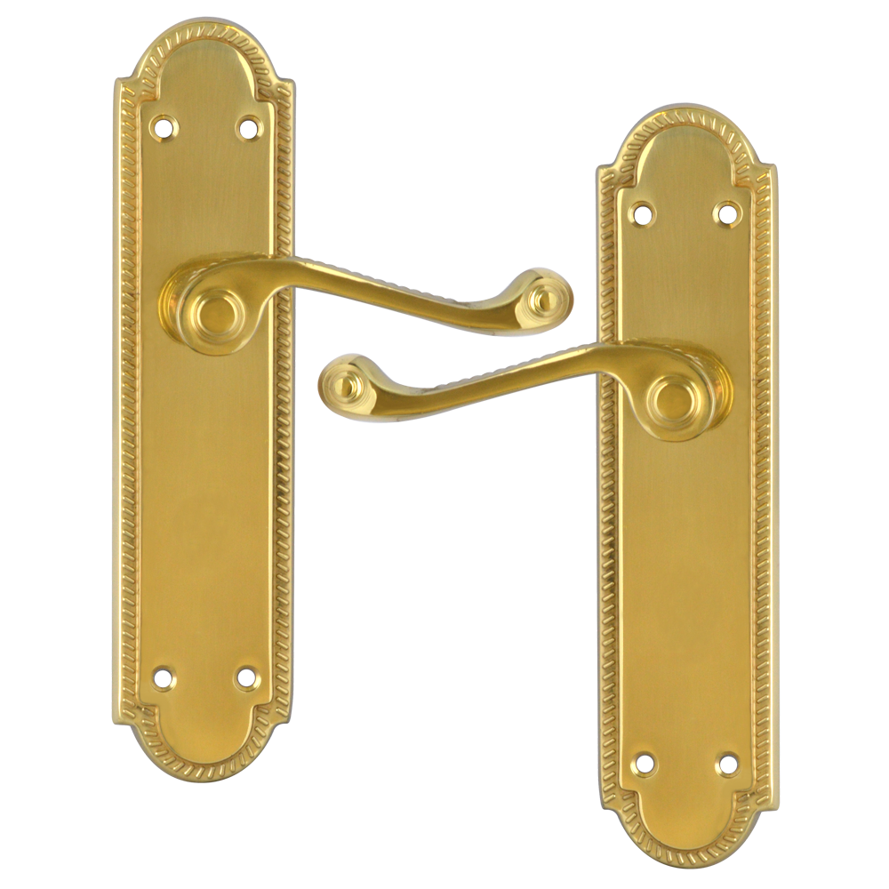 ASEC Georgian Shaped Plate Mounted Lever Furniture 1 Locksmith in Stirling