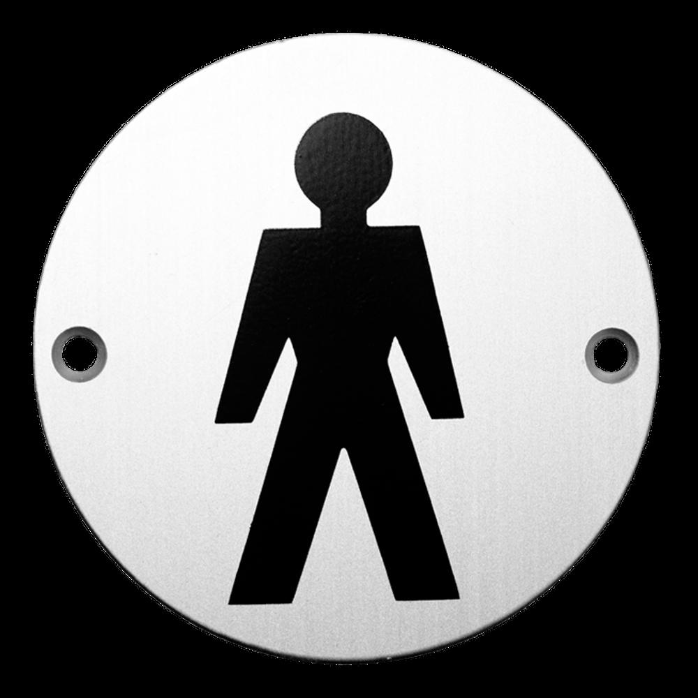 ASEC Aluminium Metal Toilet Door Sign 1 Locksmith in Stirling