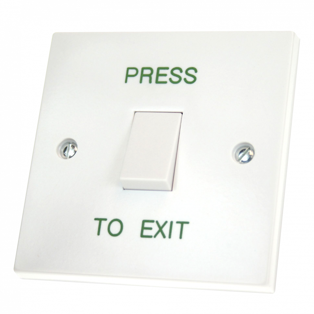 ASEC White Momentary 1 Gang Exit Switch 1 Locksmith in Stirling