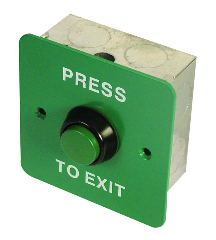 ASEC Press To Exit Green Button 1 Locksmith in Stirling