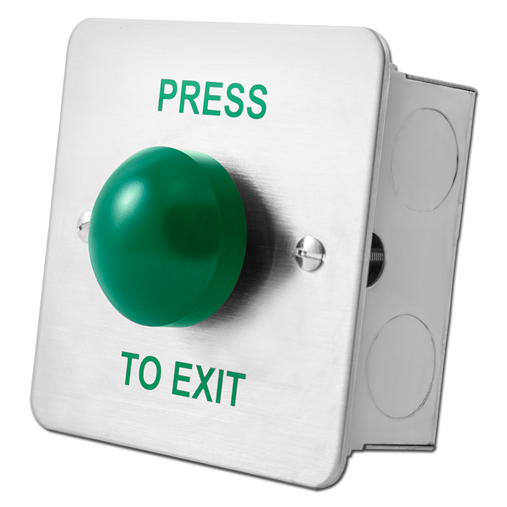 ASEC Press To Exit Green Dome Button 1 Locksmith in Stirling
