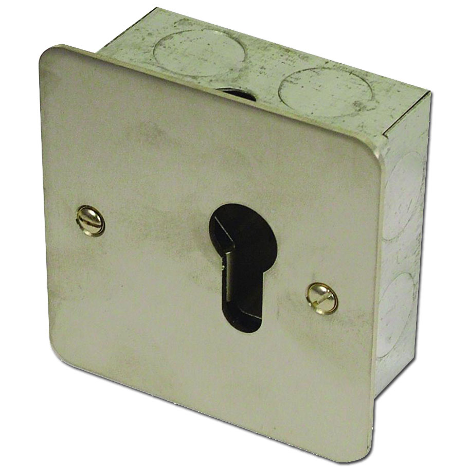 ASEC 1 Gang On/Off Euro Key Switch 1 Locksmith in Stirling