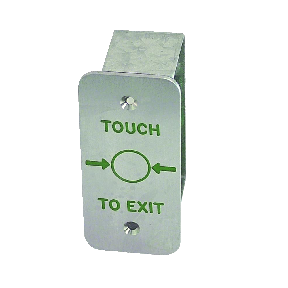 ASEC Narrow Style Touch Sensitive Stainless Steel Exit Button 1 Locksmith in Stirling