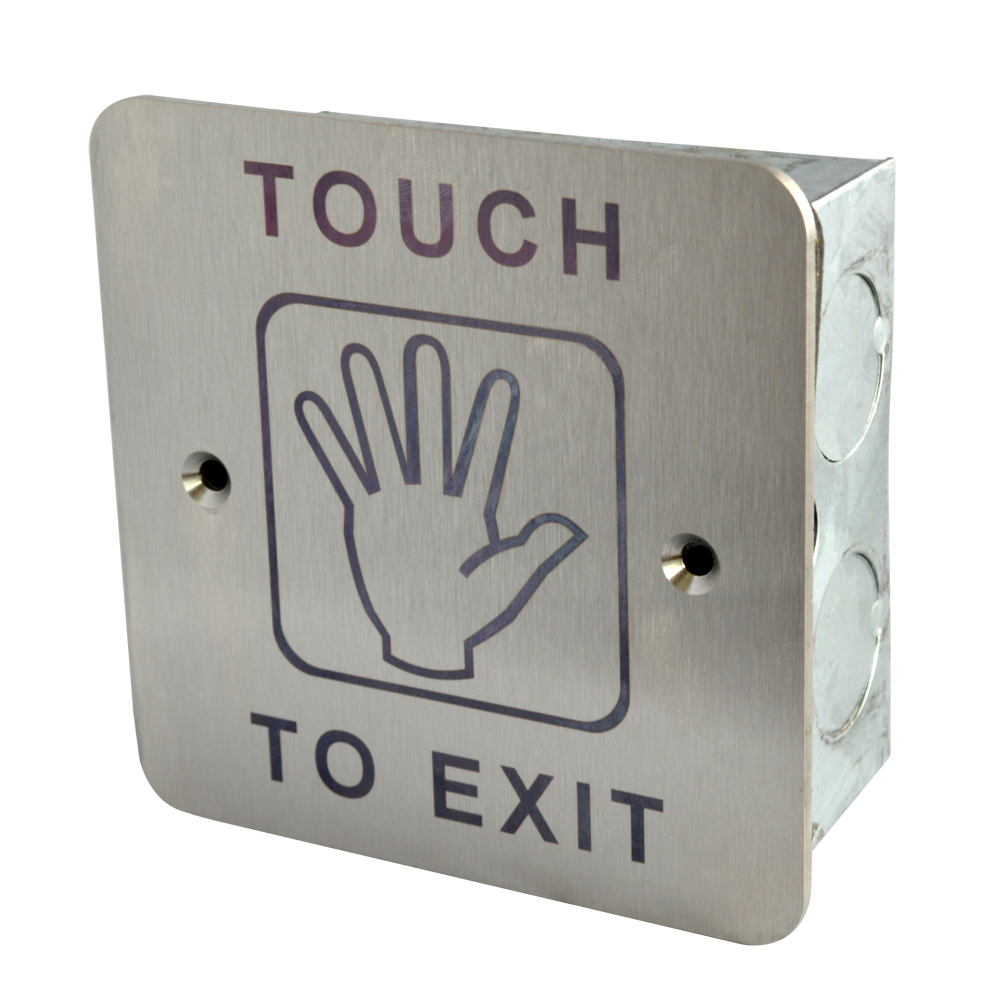 ASEC Touch Sensitive 1 Gang Exit Plate 1 Locksmith in Stirling