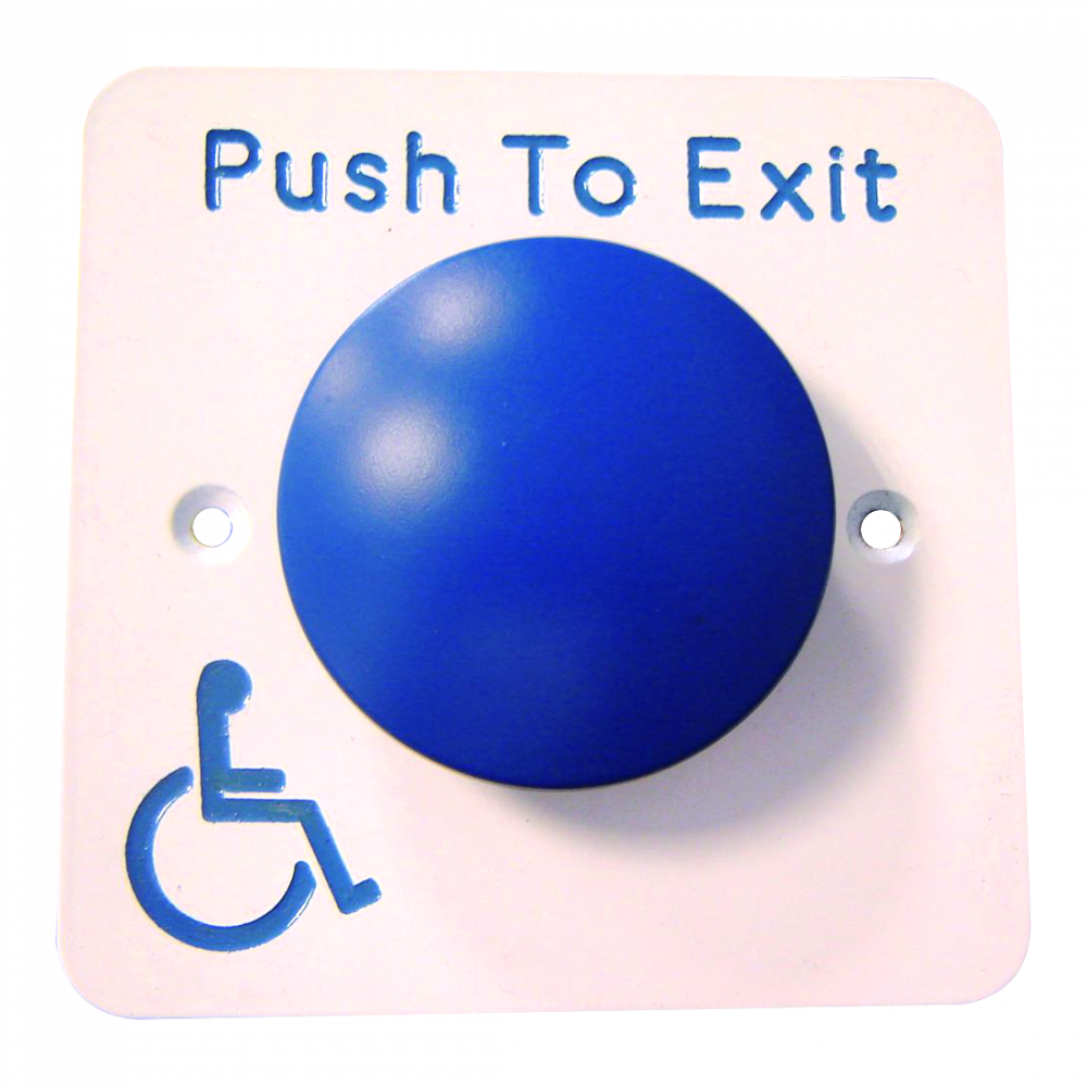 ASEC Push To Exit Blue Dome DDA Exit Button 1 Locksmith in Stirling