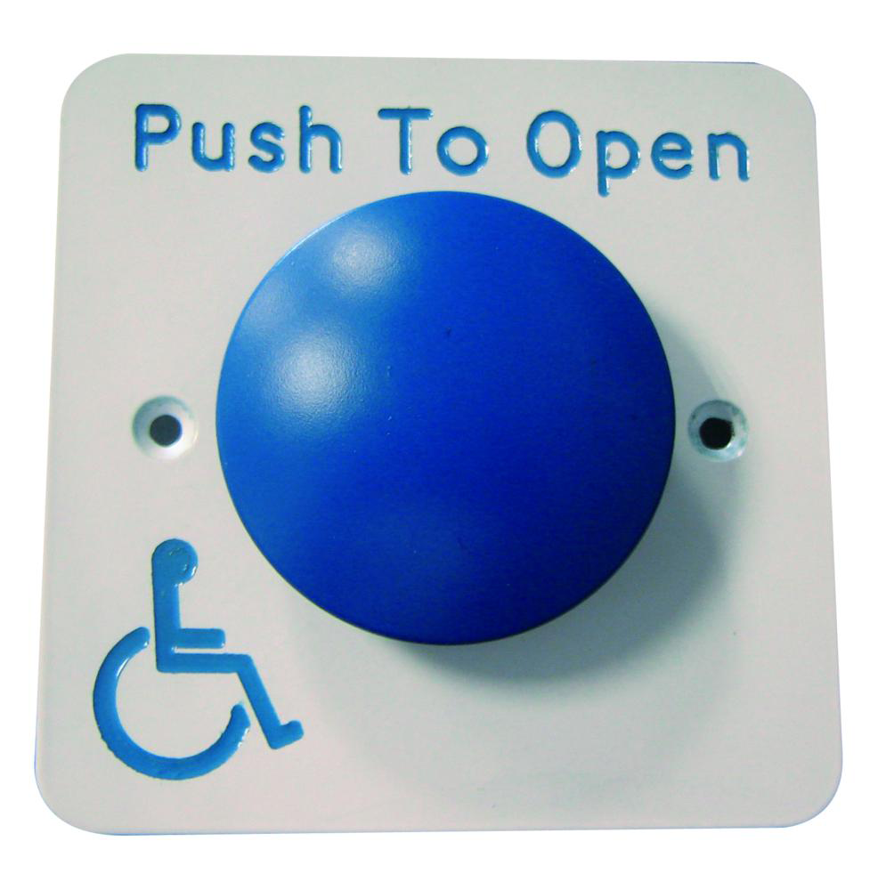 ASEC Push To Open Blue Dome DDA Exit Button 1 Locksmith in Stirling