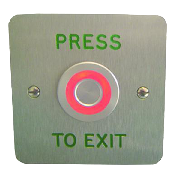 ASEC Touch Sensitive Illuminated Red/Green Halo Exit Button 1 Locksmith in Stirling