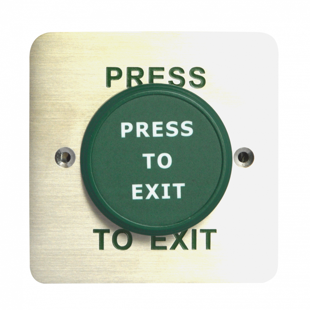 ASEC Large Green Press To Exit Dome Button 1 Locksmith in Stirling