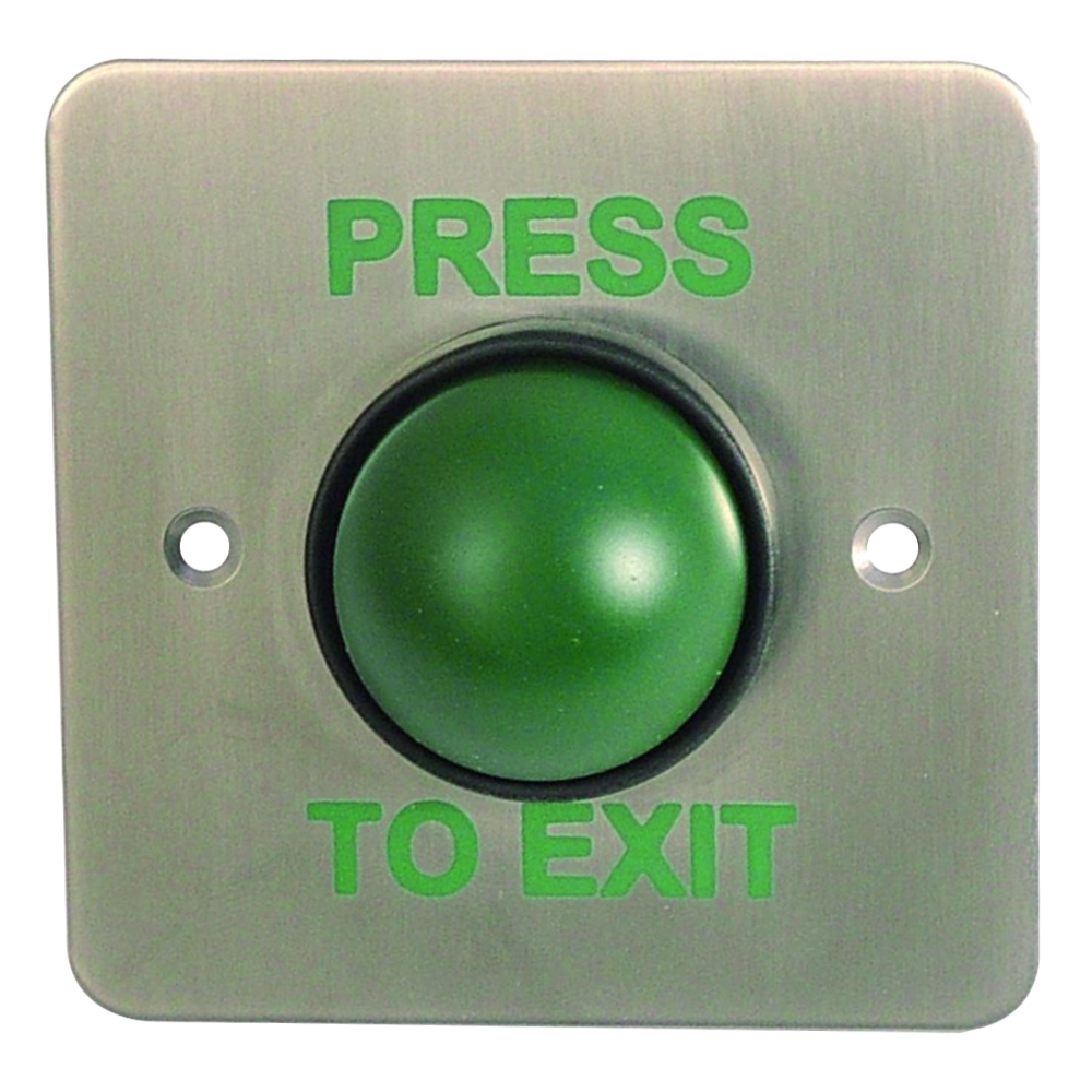 ASEC Press To Exit Green Dome Button With Tamper Proof Collar 1 Locksmith in Stirling