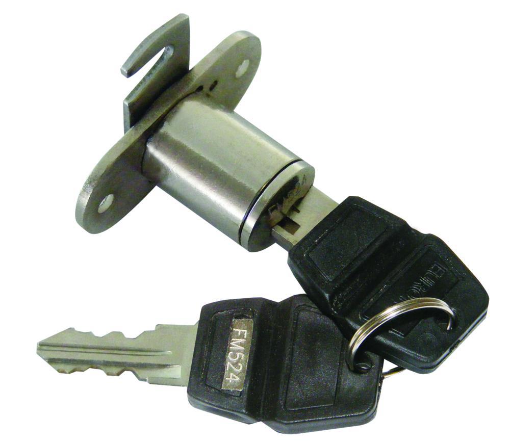 ASEC Twin Flange Fix Furniture Pedestal Hook Cam Lock 1 Locksmith in Stirling