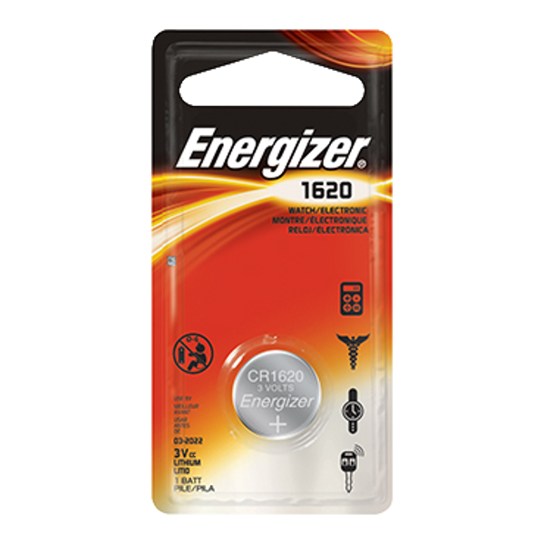ENERGIZER CR1620 3V Lithium Coin Cell Battery 1 Locksmith in Stirling