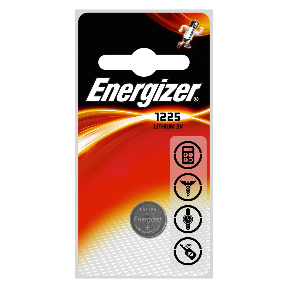ENERGIZER CR1225 3V Lithium Coin Cell Battery 1 Locksmith in Stirling