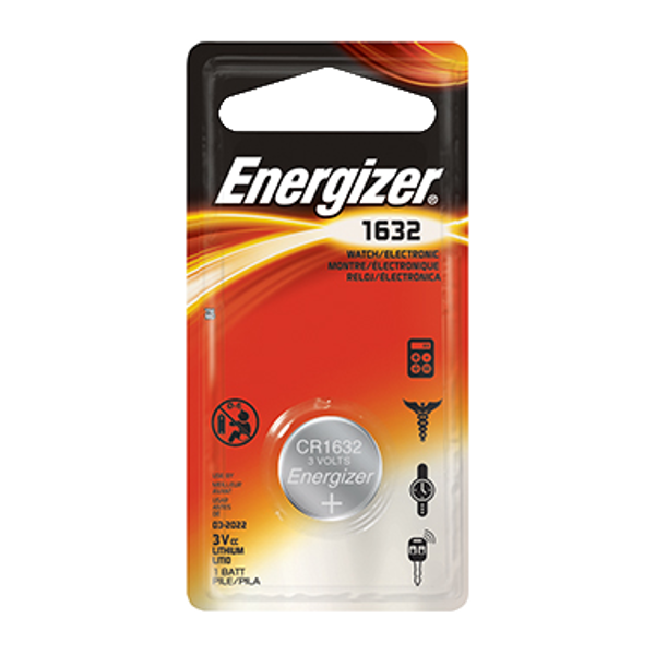 ENERGIZER CR1632 3V Lithium Coin Cell Battery 1 Locksmith in Stirling