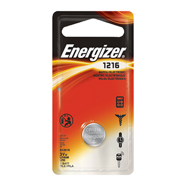 ENERGIZER CR1216 3V Lithium Coin Cell Battery 1 Locksmith in Stirling