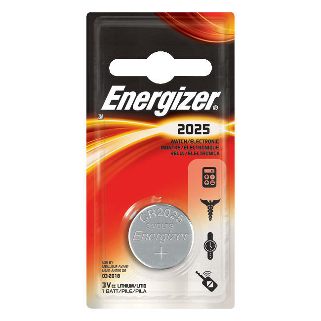 ENERGIZER CR2025 3V Lithium Coin Cell Battery 1 Locksmith in Stirling