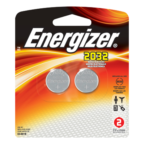 ENERGIZER CR2032 3V Lithium Coin Cell Battery - Twin Pack 1 Locksmith in Stirling