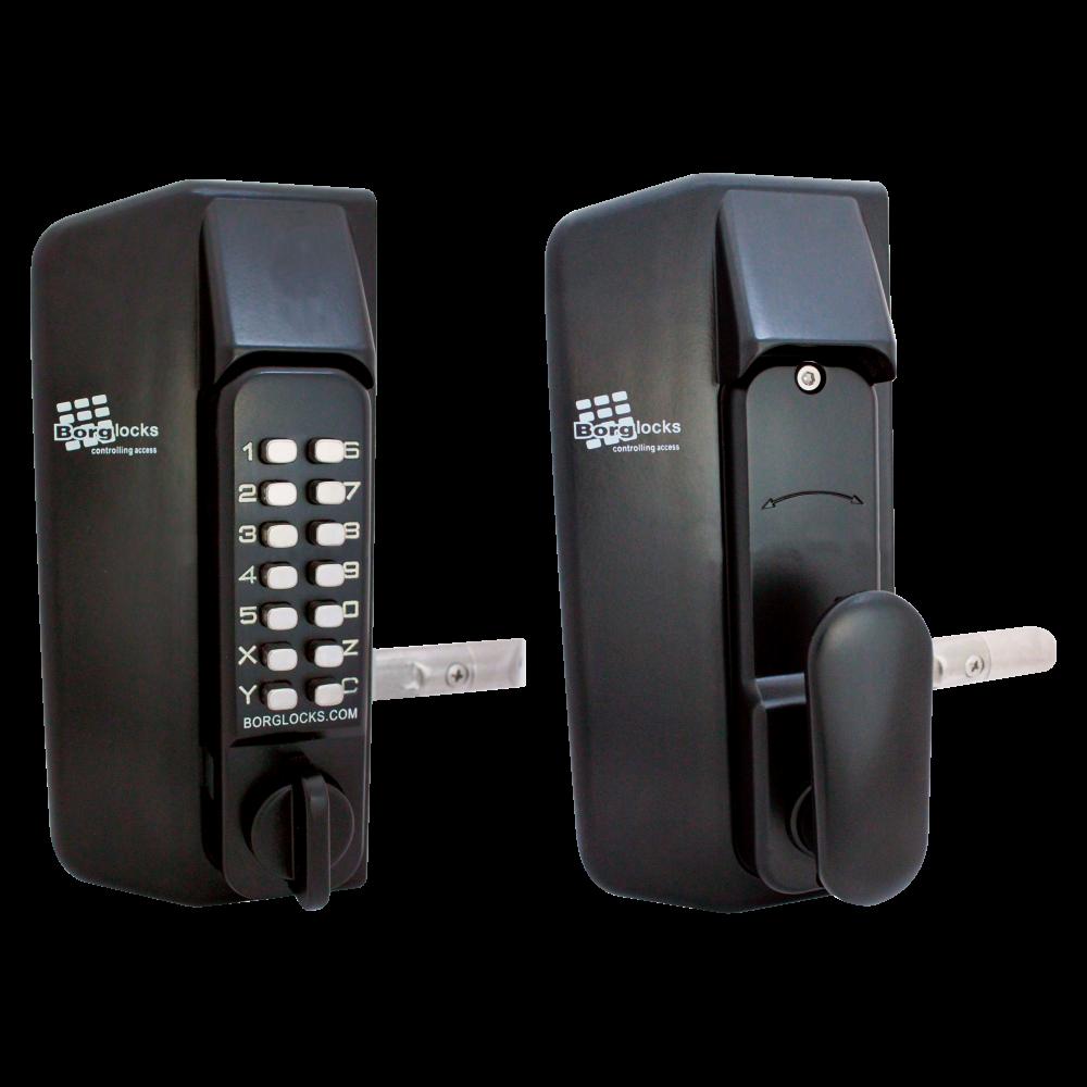 BORG LOCKS BL3100 Knob Operated Marine Grade Metal Gate Single Digital Lock 1 Locksmith in Stirling