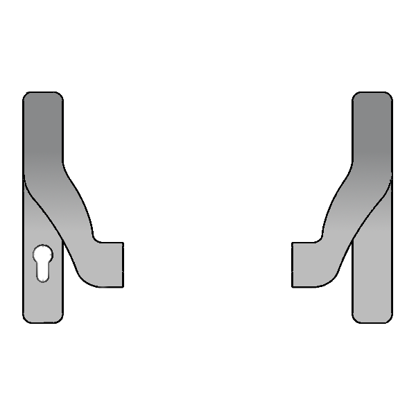 GU BKS Panic Bar Actuator To Suit Secury Panic E Multipoint Lock 1 Locksmith in Stirling