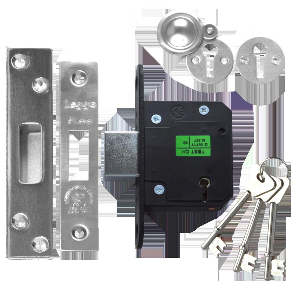 LEGGE New Style N5641 & N5761 5 Lever Deadlock 1 Locksmith in Stirling