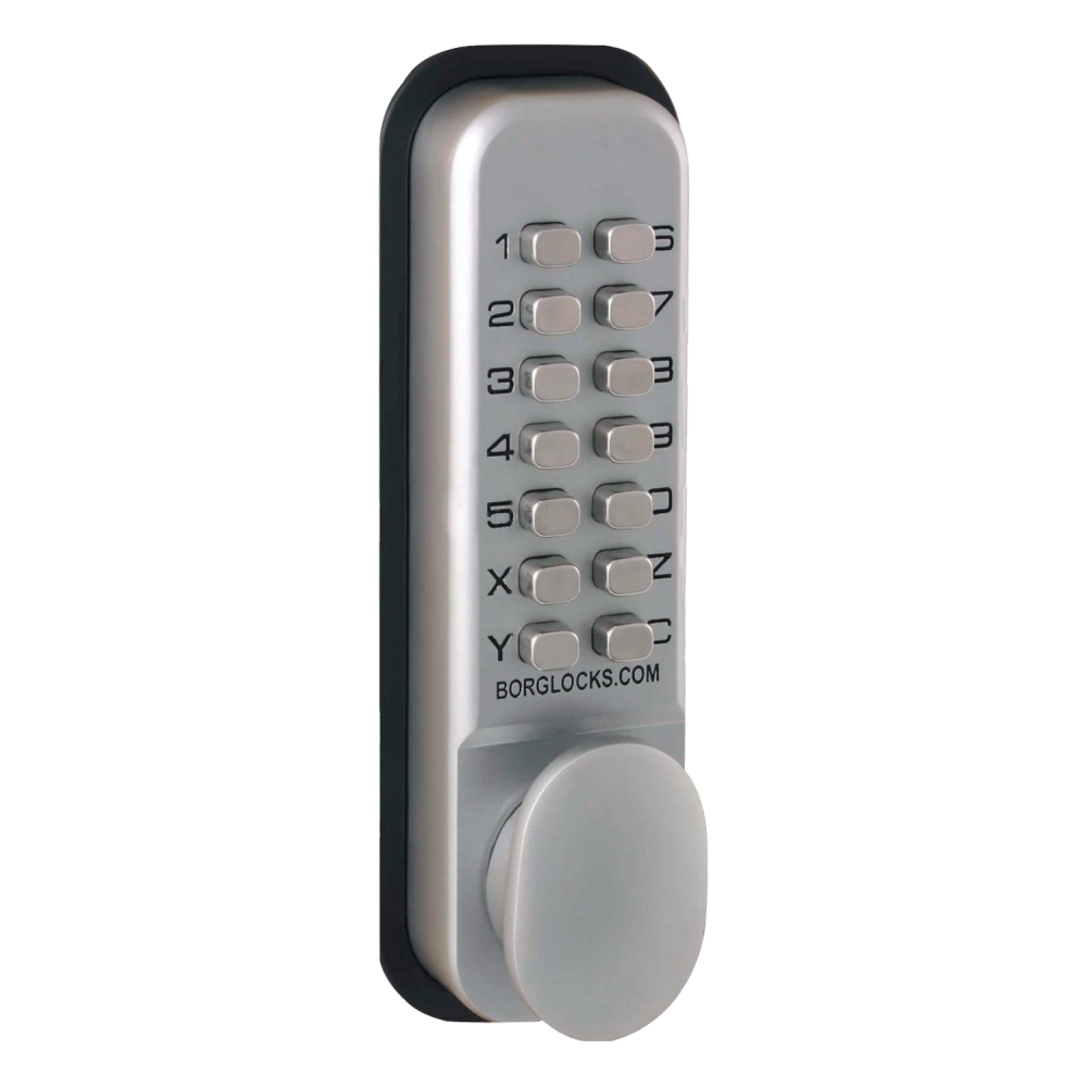 BORG LOCKS BL2201 Digital Lock With Optional Holdback Inside Handle And 60mm Latch 1 Locksmith in Stirling