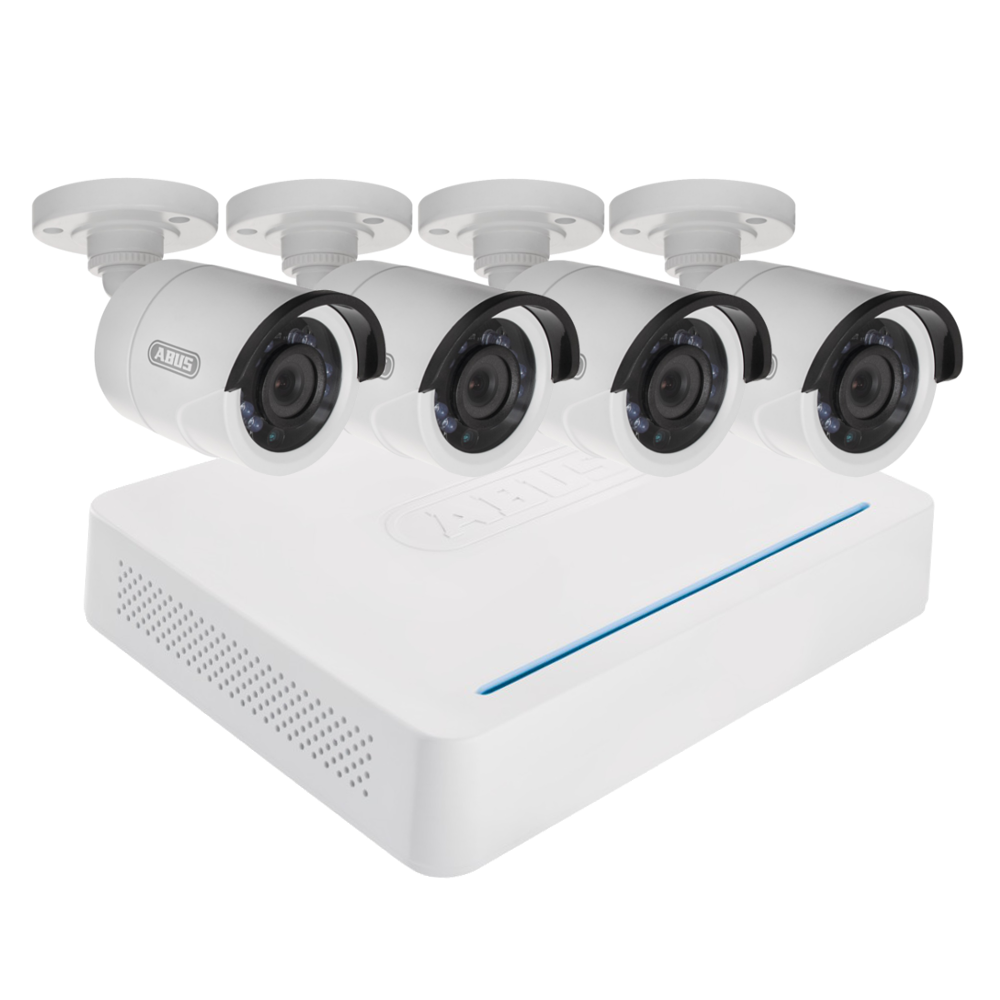 ABUS TVVR33408 AHD 4 Bullet Camera CCTV Kit 1 Locksmith in Stirling