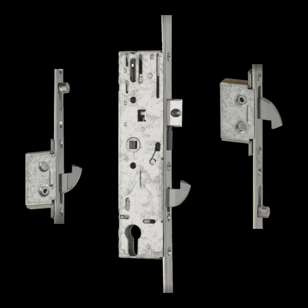 YALE YS170 Lever Operated Latch & Hookbolt Split Spindle - 2 Hook 2 Roller 1 Locksmith in Stirling