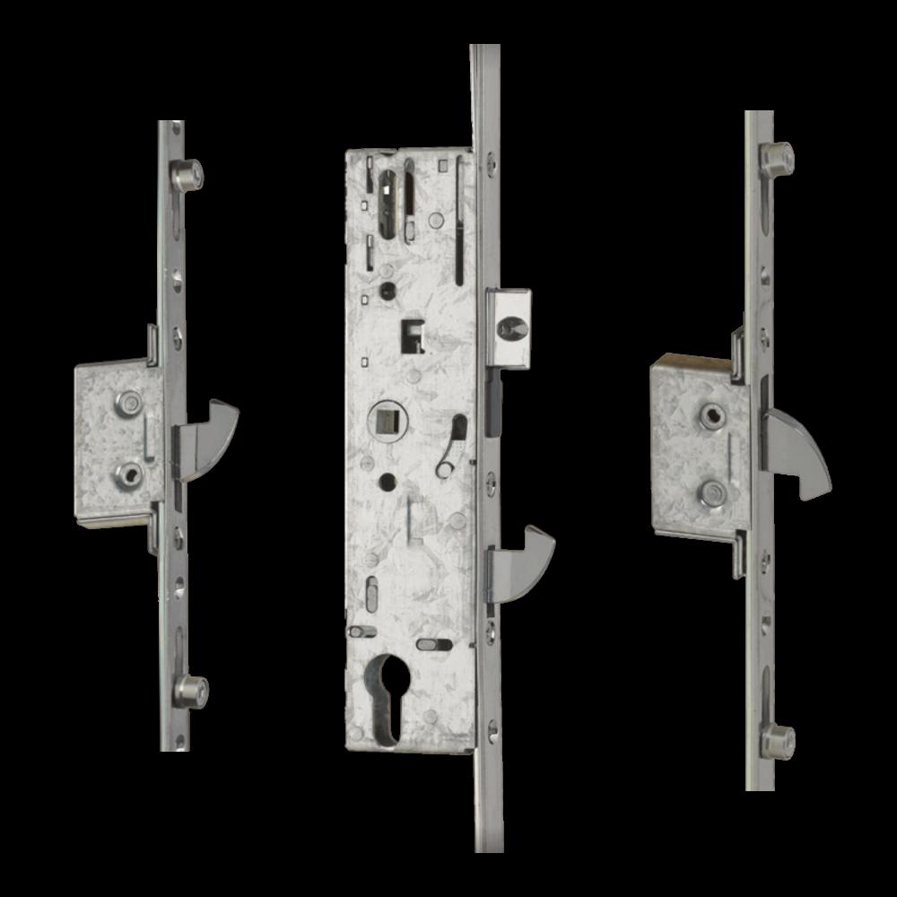 YALE YS170 Lever Operated Latch & Hookbolt Split Spindle - 2 Hook 4 Roller 1 Locksmith in Stirling