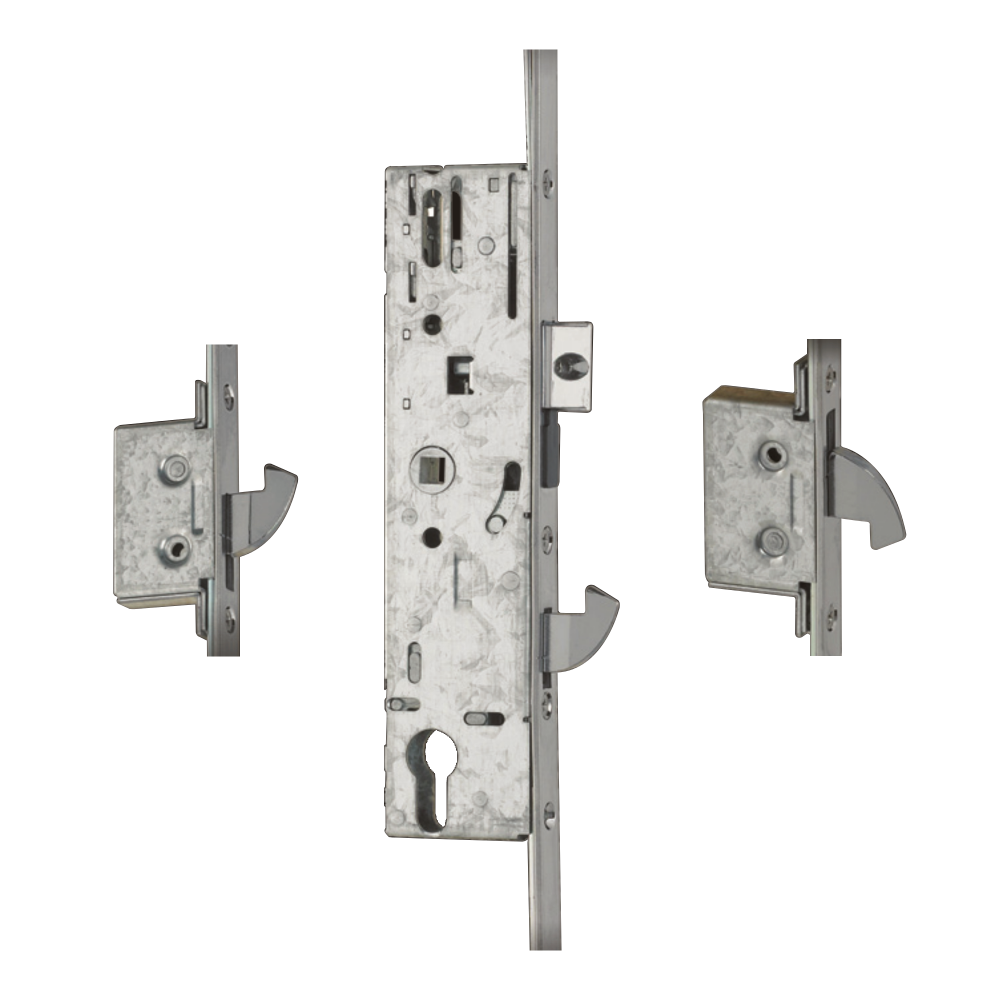 YALE YS170 Lever Operated Latch & Hookbolt Split Spindle 20mm Radius To Suit IG Doors - 2 Hook 1 Locksmith in Stirling