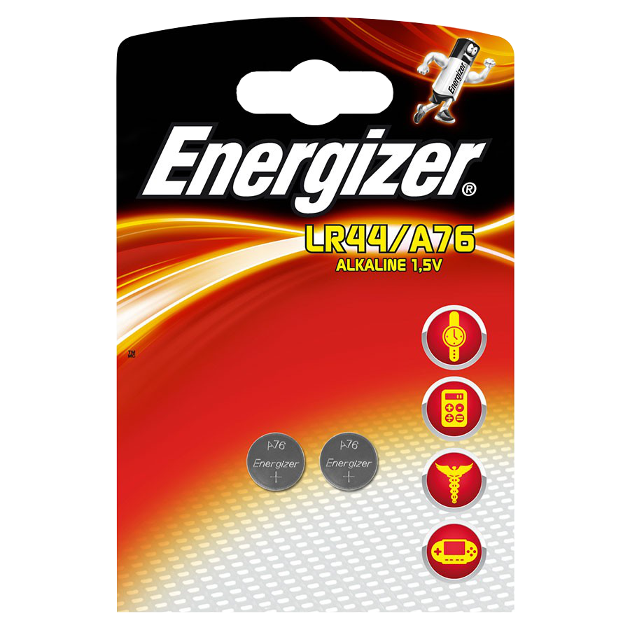 ENERGIZER 150MAH LR44 A76 Lithium Coin Battery Cell Twin Pack 1 Locksmith in Stirling