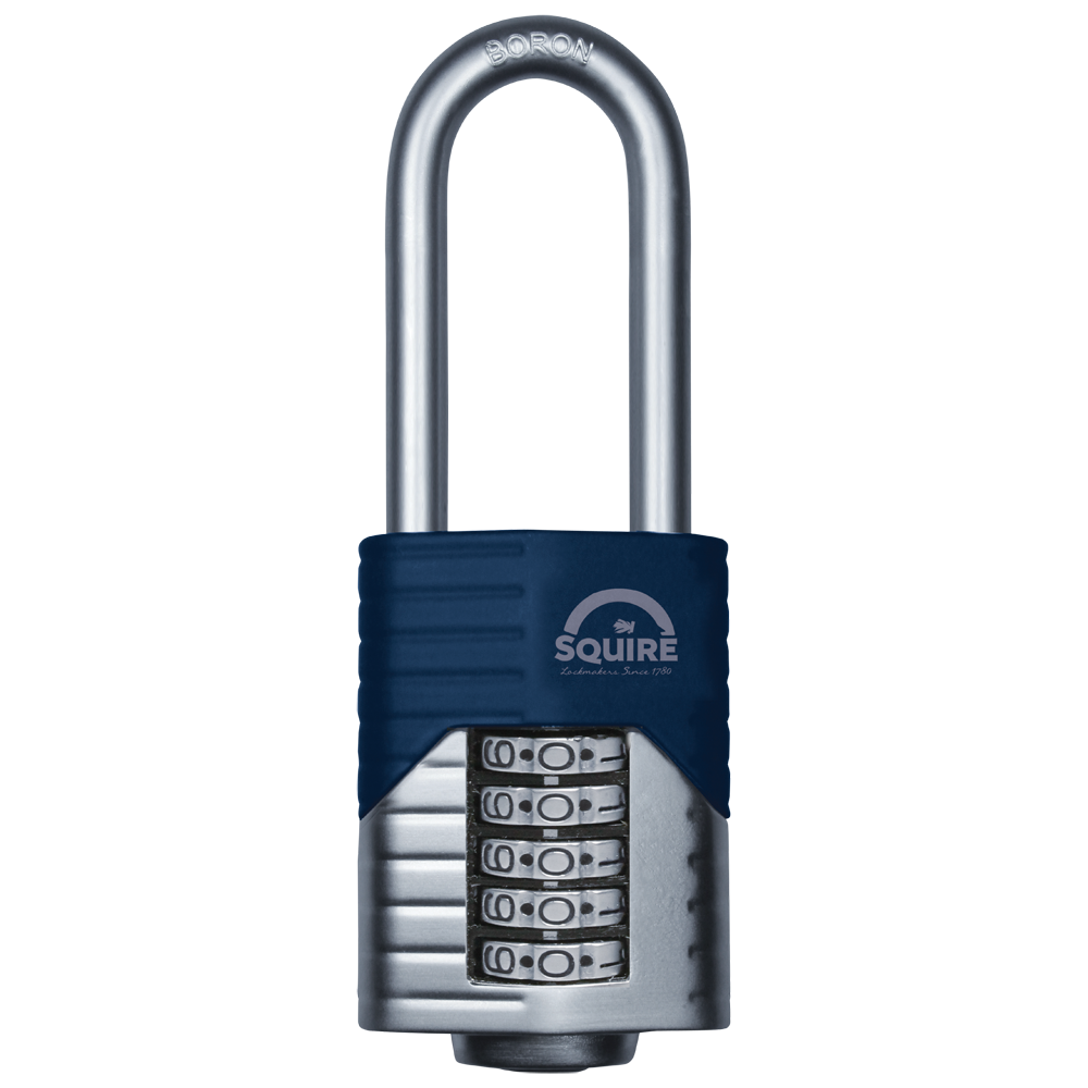 SQUIRE Vulcan Long Boron Shackle Combination Padlock 1 Locksmith in Stirling