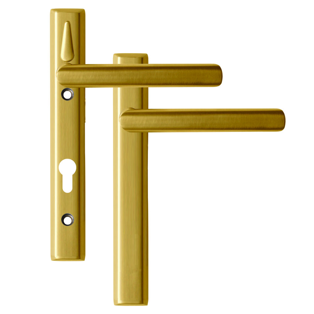 LOXTA Stealth Double Locking Lever Handle (Blank External) - 122mm 92PZ 1 Locksmith in Stirling
